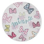 DOTS MINNIE RUG W/ ANTI SLIP