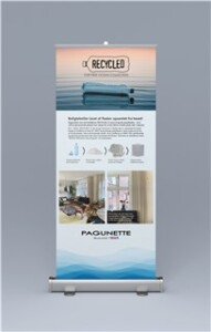 RECYCLED ROLL-UP BANNER 85X200