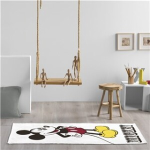 MICKEY & FRIENDS MICKEY RUG W/ANTI SLIP