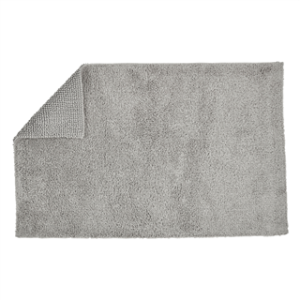 CHRISTY REVERSIBLE RUG SILVER