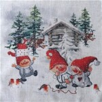 HAPPY GNOMES BRIK 35X35