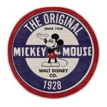 THE ORIGINAL MICKEY RUG W/ ANTI SLIP