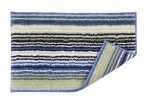 SUPR. STRIPE RUG BLUE